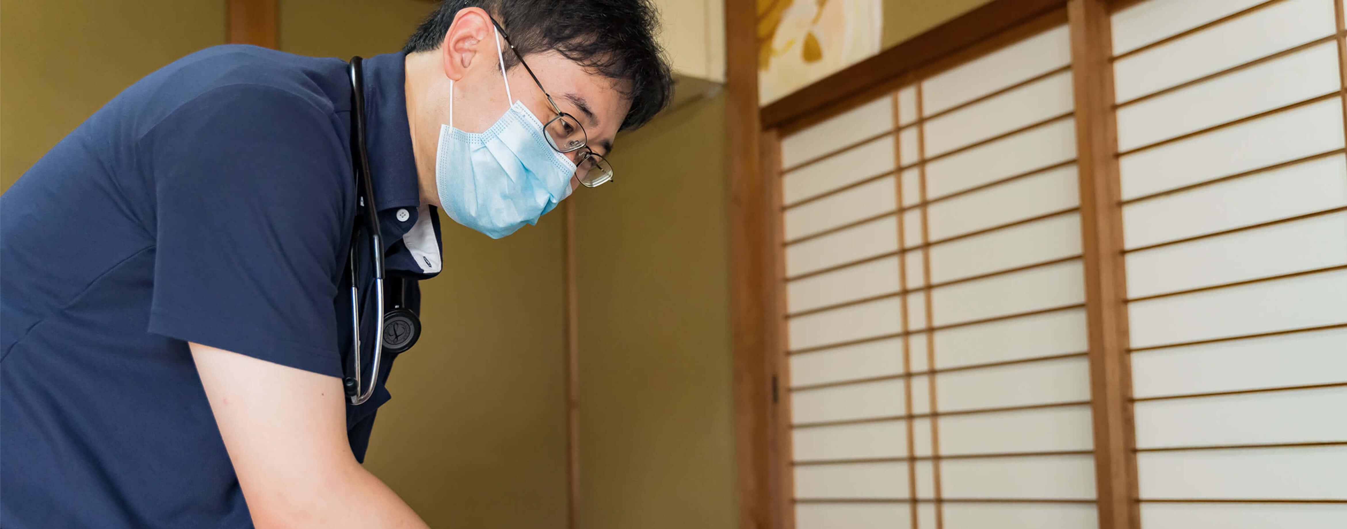 患者さんとそのご家族の 気持ちを大切にし、より質の高い在宅医療を目指していきます。